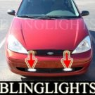 2001 2002 FORD FOCUS S2 3 DOOR HATCHBACK XENON FOG LIGHTS DRIVING LAMPS 01 02 LIGHT 3DR LAMP KIT