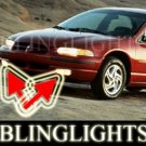 1995-2000 DODGE STRATUS ES XENON FOG LIGHTS DRIVING LAMPS LIGHT LAMP KIT 1996 1997 1998 1999