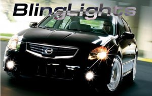 2007 2008 2009 NISSAN SENTRA LED FOG LIGHTS lamps s sl