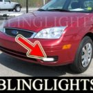 2005 2006 2007 FORD FOCUS ZX3 S BUMPER XENON FOG LIGHTS DRIVING LAMPS LAMP LIGHT KIT ZX-3 ZX 3