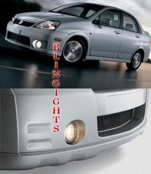 2001-2007 SUZUKI AERIO HALO FOG LIGHTS liana sx lamps 2002 2003 2004 2005 2006