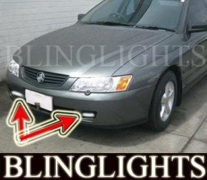 2002 2003 HOLDEN COMMODORE VY FOG LIGHTS DRIVING LAMPS LIGHT LAMP KIT 02 03
