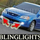 2005 2006 KIA SPECTRA LED XENON FOG LIGHTS driving lamps light kit lx ex sx