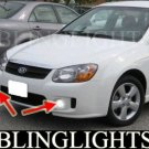2004-2009 KIA SPECTRA5 LED XENON FOG LIGHTS driving lamps light kit spectra 5 hatchback 2008