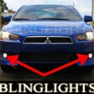 2009 2010 MITSUBISHI LANCER SPORTBACK FOG LIGHTS DRIVING LAMPS LIGHT LAMP KIT ES VR VRX RALLIART
