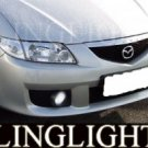 1999-2009 MAZDA 5 FOG LIGHTS LAMPS driving mazda5 premacy 2001 2002 2003 2004 2005 2006 2007 2008