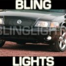 2003 2004 MERCURY MARAUDER XENON FOG LIGHTS DRIVING LAMPS LIGHT LAMP KIT