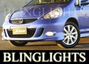 2002-2009 HONDA JAZZ FOG LIGHTS DRIVING LAMPS LIGHT LAMP KIT gli vti 2003 2004 2005 2006 2007 2008
