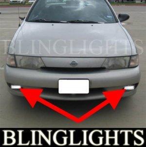 1995-1998 NISSAN 200SX FOG LIGHTS DRIVING LAMPS LIGHT LAMP KIT driving lamps se se-r 1996 1997
