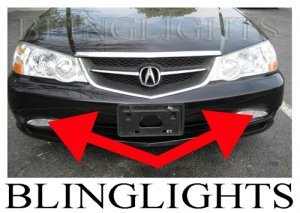 2002 2003 ACURA TL TYPE-S TYPE S TL-S TLS A-SPEC XENON FOG DRIVING LIGHTS LAMPS LIGHT LAMP KIT