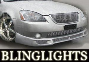 2002 2003 2004 2005 2006 NISSAN ALTIMA SARONA BODY KIT FOG LIGHTS LAMPS LIGHT LAMP 02 03 04 05 06