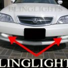 2002 2003 ACURA TL XENON BUMPER GRILLE DRIVING FOG LIGHTS LAMPS LIGHT LAMP KIT 02 03 3.2 V6