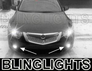 2009 2010 ACURA TSX BUMPER XENON LED FOG DRIVING LIGHTS LAMPS LIGHT LAMP KIT 09 10 2.2 2.4 3.5