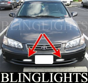 1997-2001 TOYOTA CAMRY FOG LIGHTS DRIVING LAMPS LIGHT KIT xv20 se ce xle altis vista 1998 1999 2000