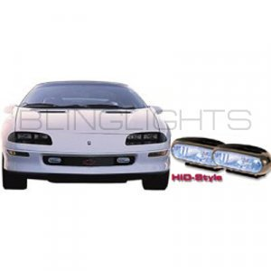 1993-1997 CHEVY CAMARO LT1 XENON FOG LIGHTS DRIVING LAMPS LIGHT LAMP KIT CHEVROLET 1994 1995 1996
