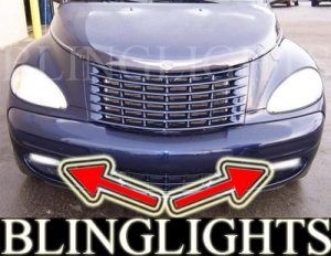 2001-2005 CHRYSLER PT CRUISER FOG LIGHTS DRIVING LAMPS LIGHT KIT convertible turbo 2002 2003 2004