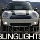 2009 2010 MINI COOPER CONVERTIBLE XENON FOG LIGHTS DRIVING LAMPS KIT R57