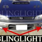 1995-1999 SUBARU OUTBACK SPORT XENON FOG LIGHTS DRIVING LAMPS LIGHT LAMP KIT 1996 1997 1998