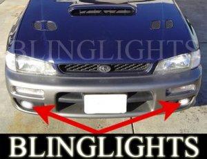 1995-1999 SUBARU OUTBACK SPORT XENON FOG LIGHTS DRIVING LAMPS LIGHT LAMP KIT 1996 1997 1998