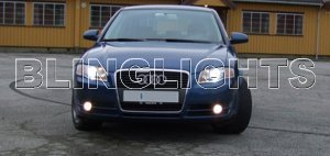 2002-2008 Audi A4 Xenon Fog Lights Driving Lamps Kit 2003 2004 2005 2006 2007