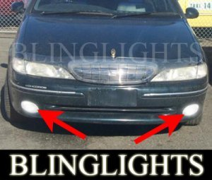 1997 1998 FORD FAIRLANE CONCORDE FOG LIGHTS PAIR lamps