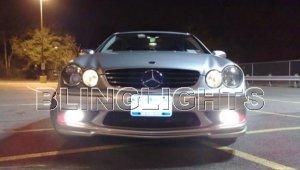 2003 2004 2005 2006 Mercedes-Benz CLK500 Xenon Fog Lights Driving Lamps Kit CLK 500