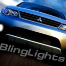 2008 2009 MITSUBISHI OUTLANDER XENON FOG LED DRIVING LIGHTS DAY TIME RUNNING LAMPS DRL