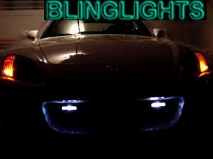 1997 1998 1999 HYUNDAI TIBURON XENON DAY TIME RUNNING LIGHTS DRIVING LAMPS DRL LIGHT DRLS LAMP KIT