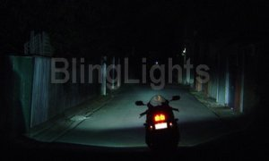 2005-2006 KTM 990 SUPER DUKE FOG LIGHTS titanium black
