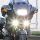 1993-2009 HARLEY-DAVIDSON SUPER GLIDE RIDER XENON FOG LIGHTS LAMP 1994 1995 1996 1997 1998 1999 2000