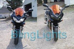 1998-2008 BMW L1200RS HEADLIGHT TINT SMOKE 1999 2000 2001 2002 2003 2004 2005 2006 2007