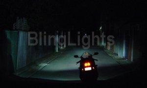 1993-2009 HARLEY-DAVIDSON DYNA SUPER GLIDE XENON FOG LIGHTS LAMP 1994 1995 1996 1997 1998 1999 2000