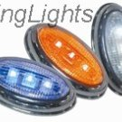 1997-2008 HYUNDAI TIBURON LED SIDE MARKERS TURN SIGNALS TURNSIGNALS SIGNALERS LIGHTS LAMPS