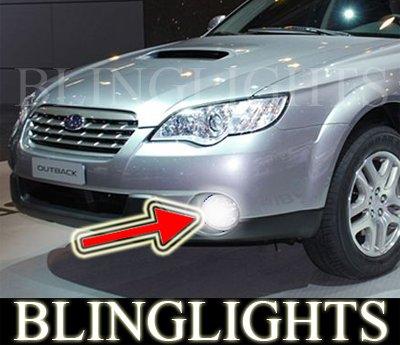 2008-2009 Subaru Outback Blue Halo Fog Lamps lights 09