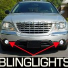 04-08 Chrysler Pacifica White Halo Fog Lamps lights 07