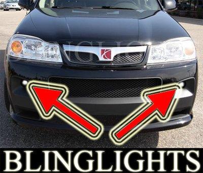 04-07 SATURN VUE REDLINE FOG LIGHTS driving lamps 05 06