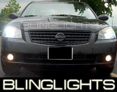 2005-2006 Nissan Altima Fog Lamps Lights S SE SL HID 06