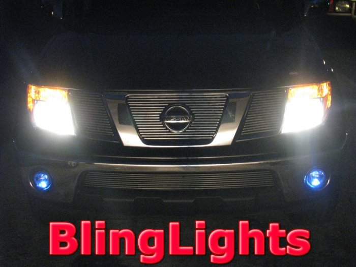 01-09 NISSAN FRONTIER/NAVARA XENON FOG LAMPS lights 05