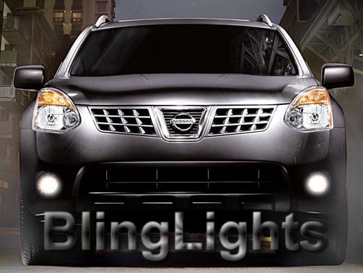 2008-2009 Nissan Rogue Xenon White Fog Lamps lights 08