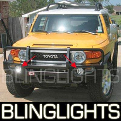 2007-2009 Toyota FJ Cruiser Halo Fog Lamps blue white