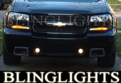 2002-2009 Chevy Trailblazer Fog Lamps Lights 05 06 07