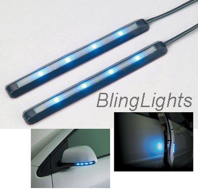 Soft Illuminator Door Mirror Turn Signal LED Lights JDM