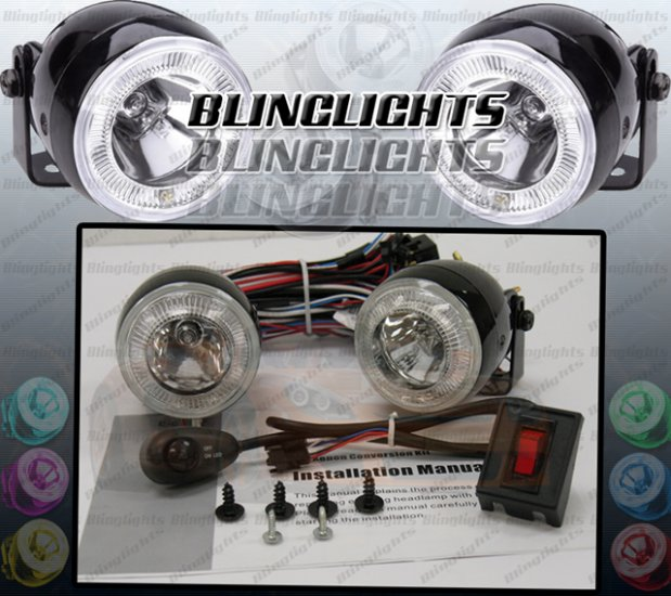 2006-2009 Chrysler PT Cruiser Halo Fog Lamps lights 07