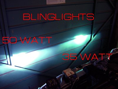 VHO 50 Watt (Very High Output) 8000K H7 Xenon HID Kit