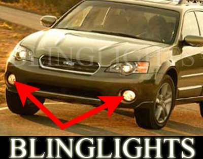2005-2008 Subaru Outback Sport Xenon Fog Lamps 06 07 08