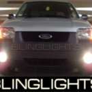 2001-2007 FORD ESCAPE HALO FOG LAMPS lights blue white