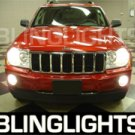 2004-2009 Jeep Grand Cherokee Red Halo Fog Lamps lights