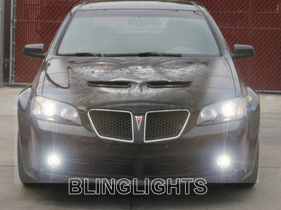 2008-2009 Pontiac G8 Fog Lamps Kit Lights 08 driving gt