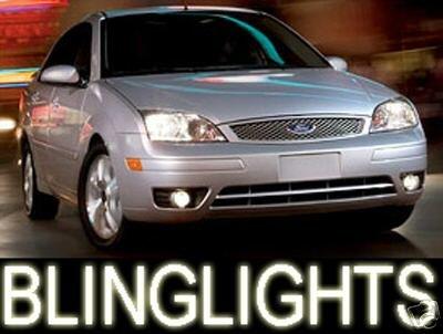 2005-2008 FORD FOCUS BLUE LED FOG LAMPS lights 06 c-max