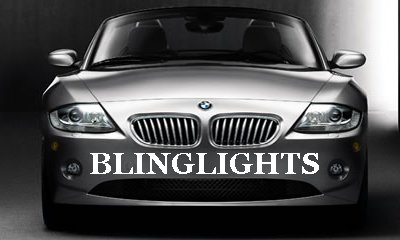 2004-2009 BMW Z4 Fog Lamps Kit Lights M 05 06 07 coupe